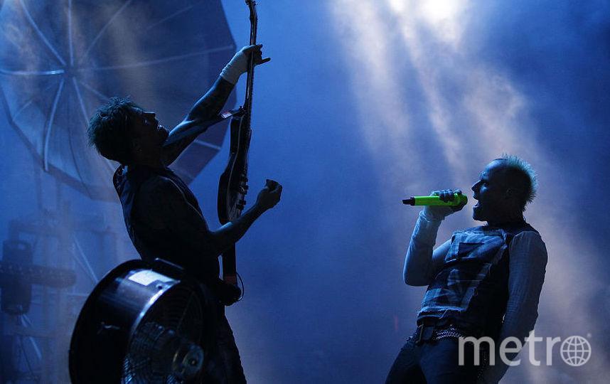 группа The Prodigy. Фото Getty