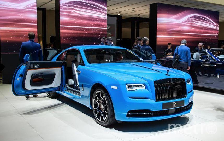 Автосалон в Женеве. Wraith Rolls-Royce. Фото Getty