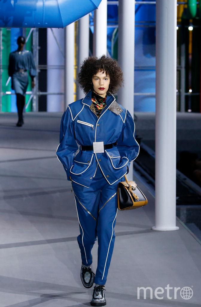 Показ Louis Vuitton. Фото Getty