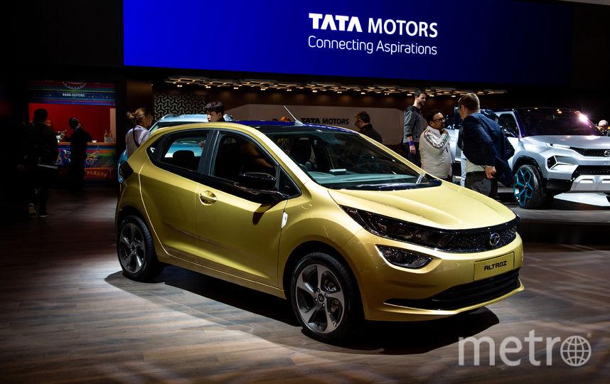 Автосалон в Женеве. Tata Motors Altroz. Фото Getty