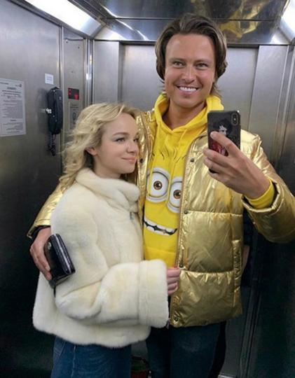 Виталина Цымбалюк-Романовская и Прохор Шаляпин. Фото Скриншот https://www.instagram.com/vitalinaromanovskaya/