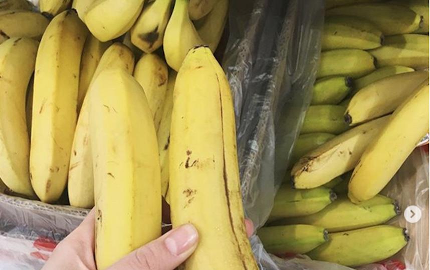 Одинокий банан. Фото Instagram/dasha.planeta.nasha