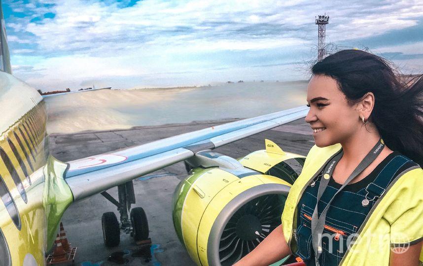 Авиамеханик из Новосибирска Татьяна Кожевина. Фото предоставлено Татьяной Кожевиной.