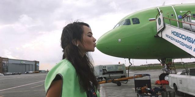 Авиамеханик из Новосибирска Татьяна Кожевина.