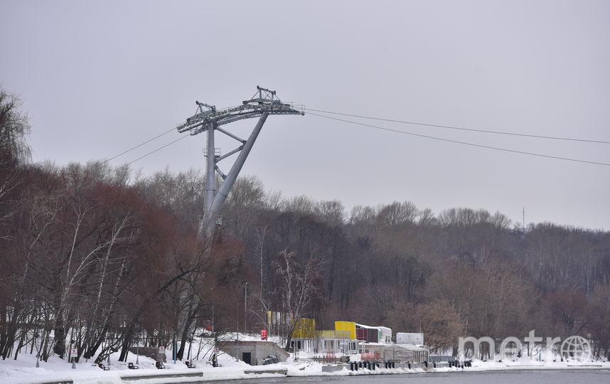 Канатная дорога. Фото Василий Кузьмичёнок