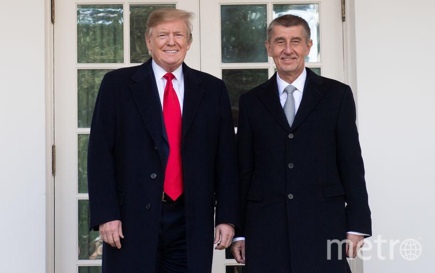 Дональд Трамп и Андрей Бабиш. Фото AFP