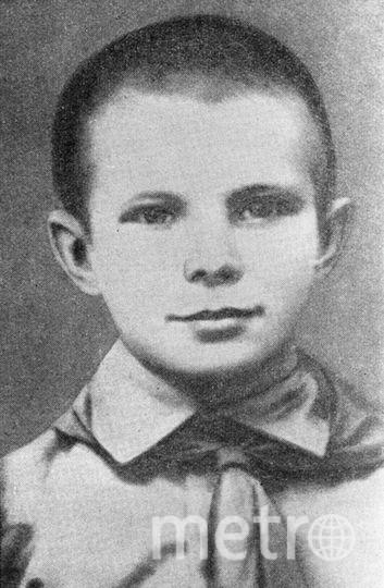 Юный Гагарин. Фото РИА Новости