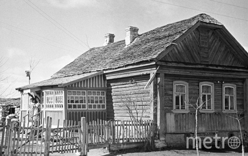 Дом, в котором Юрий Гагарин жил в детстве. Фото РИА Новости