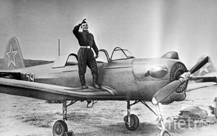 Курсант авиационного училища в г. Оренбурге Юрий Гагарин. Фото РИА Новости