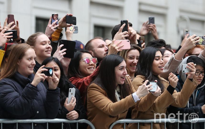 Публика ждала герцогиню. Фото Getty