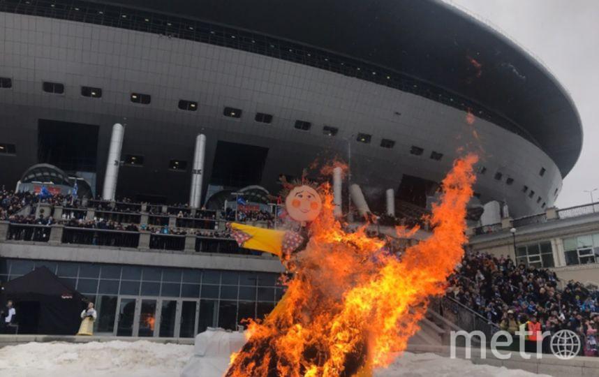 """На стадионе """"Зенита"""" проводили зиму. Фото Филипп Ковалев, """"Metro"""""""