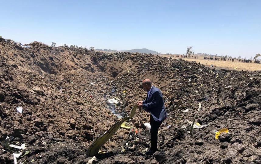 Стали известны подробности крушения самолета в Эфиопии. Фото https://www.facebook.com/EthiopianAirlines/