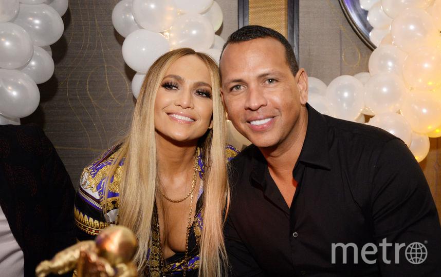 Алекс Родригес и Дженнифер Лопес. Фото Getty