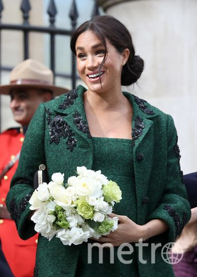 Меган Маркл и принц Гарри в Canada House в Лондоне. Фото Getty