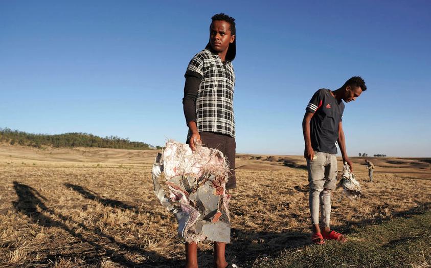 """Обнаружены оба """"черных ящика"""" разбившегося эфиопского авиалайнера. Фото Getty"""