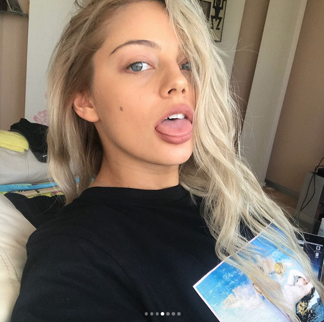 Катя Кищук. Фото Скриншот старой странички певицы в Instagram