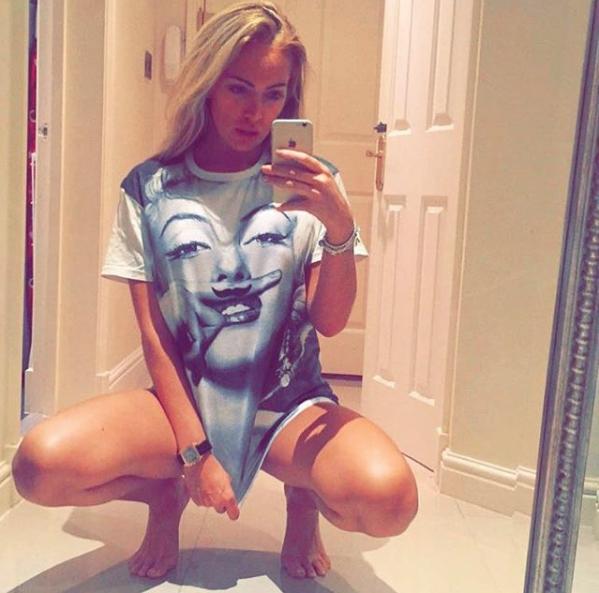 Эйслейн Хорган-Уоллас. Фото Скриншот Instagram//aisleyne1
