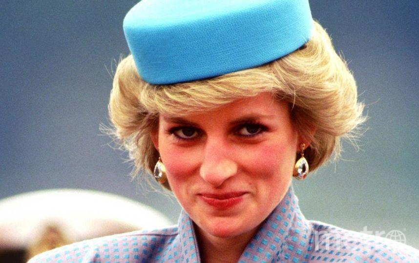 """Шляпка-таблетка принцессы Дианы. Фото """"Metro"""""""