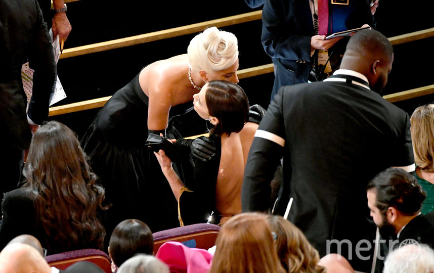 Ирина Шейк и Леди Гага. Фото Getty