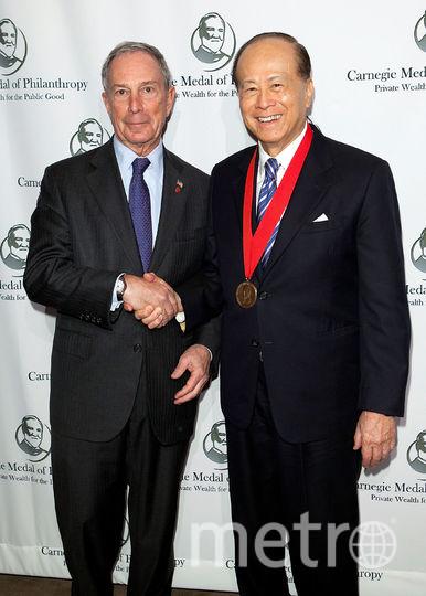 Майкл Блумберг и Ли Кашин. Фото Getty