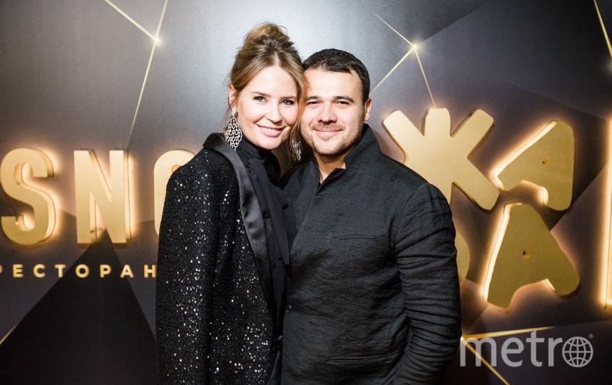 Эмин Агаларов с супругой. Фото Предоставлено пресс-службой.