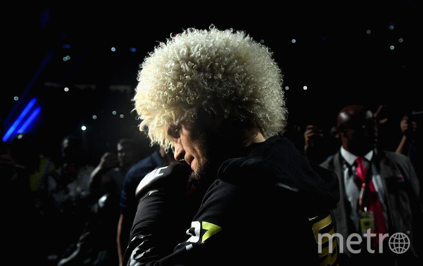 Хабиб набрал бешенную популярность после победы над Конором Макгрегором в титульном бою. Фото Getty