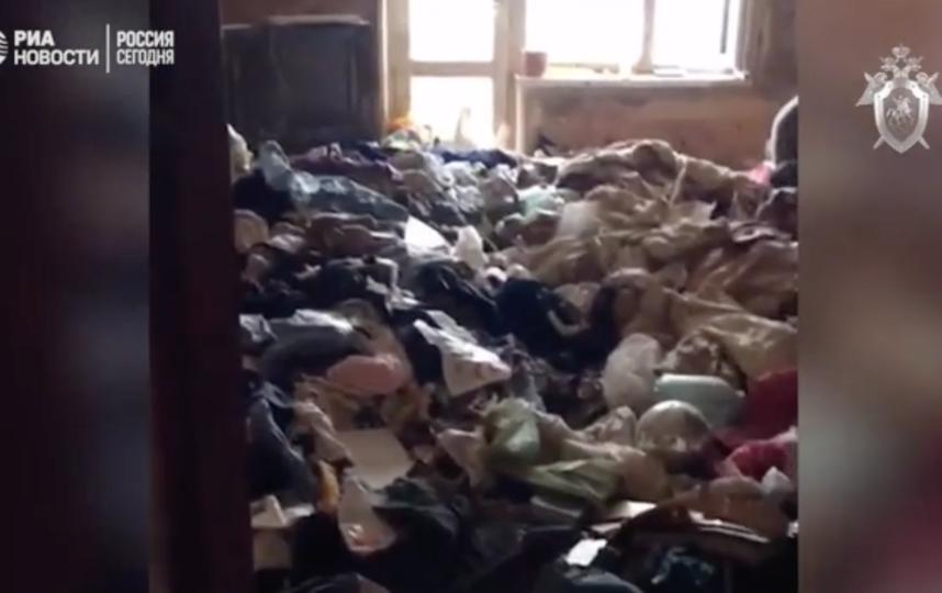 Так выглядит квартира, в которой удерживали ребёнка. Фото СК РФ