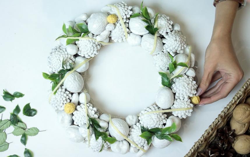 """Венок сделает ваш дом ярчеи принесет атмосферу весны. Фото instagram@forest.wreath, """"Metro"""""""