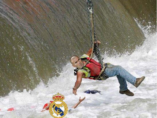 Болельщики верят, что Зидан пришёл, чтобы спасти утопающий «Реал». Фото Это и другие фото – мемы из instagram
