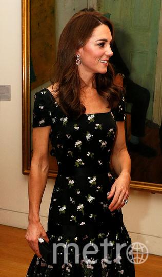 Кейт Миддлтон в портретной галерее в Лондоне. Фото Getty