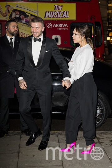 Гости. Виктория Бекхэм с супругом. Фото Getty