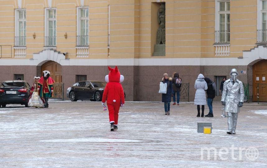 "Аниматоры заполонили Петербург. Фото Алена Бобрович, ""Metro"""