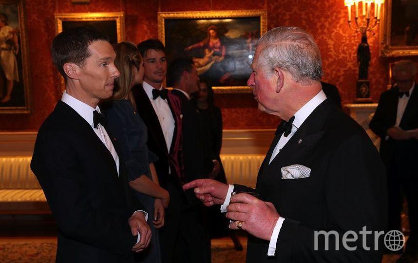 Гости на приеме принца Чарльза. Бенедикт Камбербэтч. Фото Getty