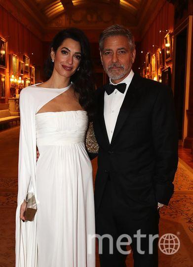 Гости на приеме принца Чарльза. Амаль Клуни и Джордж Клуни. Фото Getty
