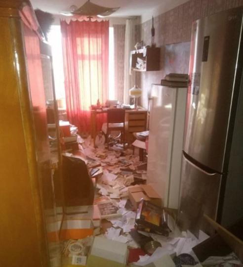 Место преступления. Фото Скриншот Instagram/lelya_tells