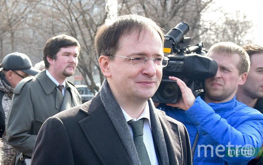 Владимир Мединский. Фото Василий Кузьмичёнок