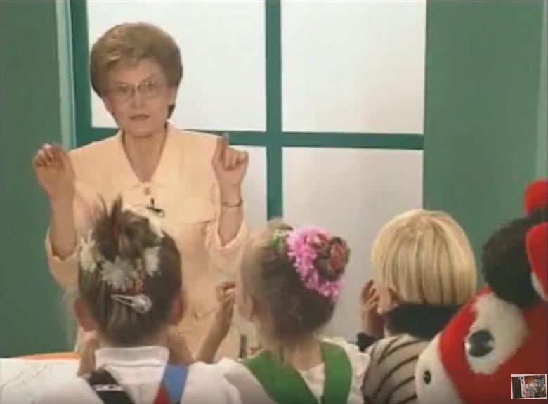 Елена Малышева в молодости. Фото Скриншот Youtube