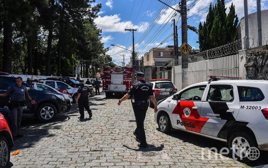 На месте происшествия работает полиция. Фото AFP