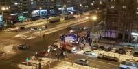 В жуткой массовой аварии на Светлановском погиб человек: очевидцы рассказали подробности