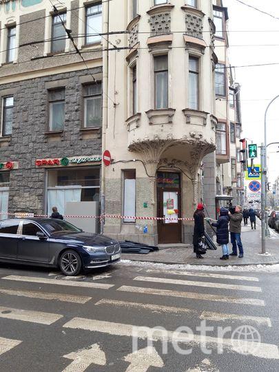 """Супермаркет находится в доме №69 по Большому проспекту Петроградской стороны. Фото Софья Сажнева, """"Metro"""""""