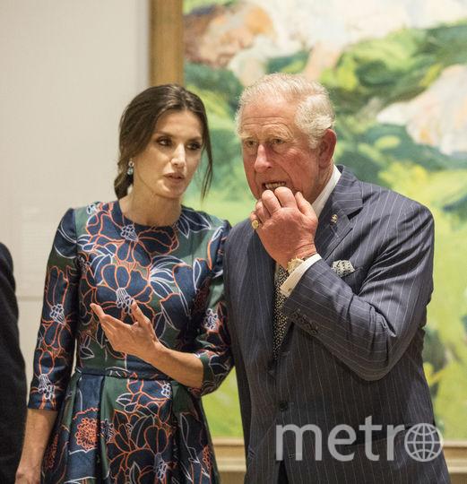 Королева Летиция и принц Чарльз явно наслаждались обществом друг друга. Фото Getty