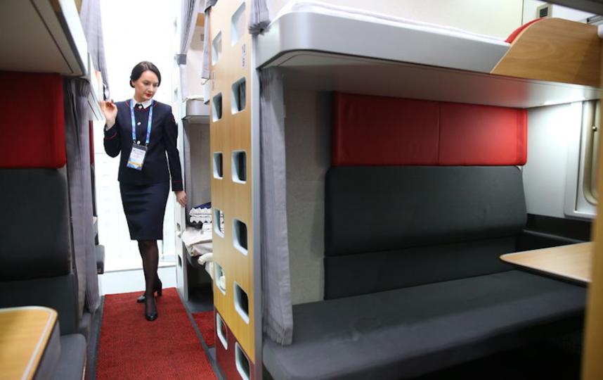 Новый плацкартный вагон. Фото Василий Кузьмичёнок