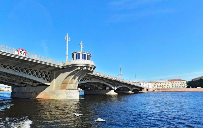 Благовещенский мост. Фото Яндекс.Панорамы