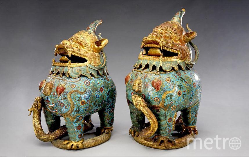 Сокровища императорского дворца Гугун. Фото Предоставлено организаторами