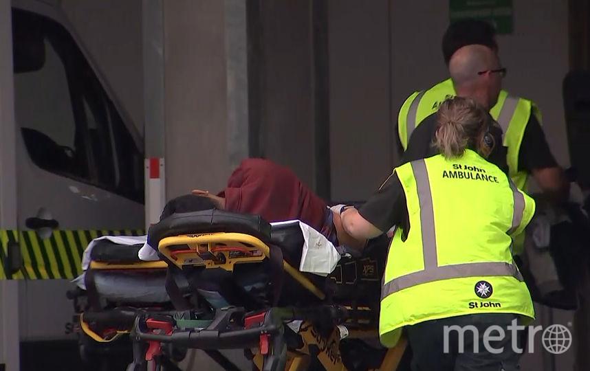 Стрельба произошла в двух мечетях в новозеландском городе Крайстчерч. Фото AFP