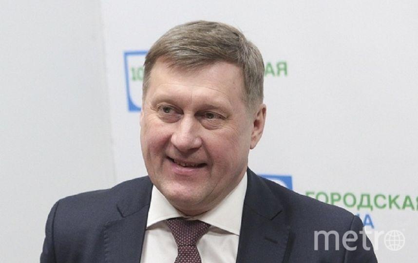 Анатолий Локоть, мэр города Новосибирска.