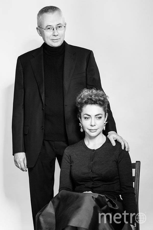 """Божена Рынска и Игорь Малашенко. Фото """"Metro"""""""