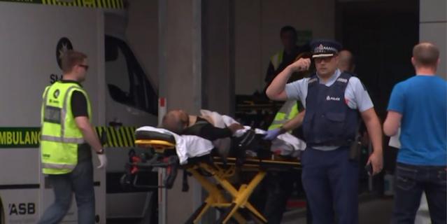 Трагедия в Новой Зеландии.