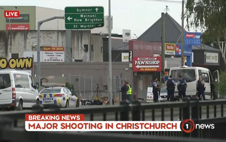 Трагедия в Новой Зеландии. Фото AFP