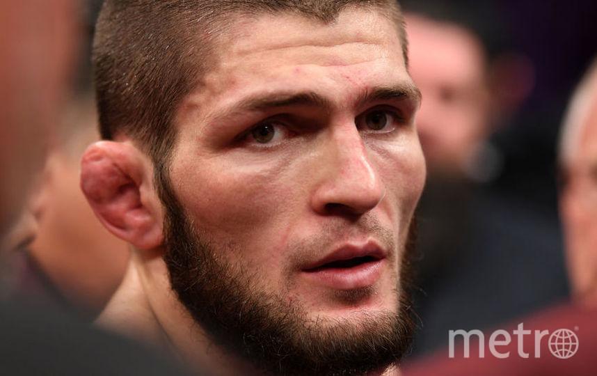 Боец UFC Хабиб Нурмагомедов. Фото Getty